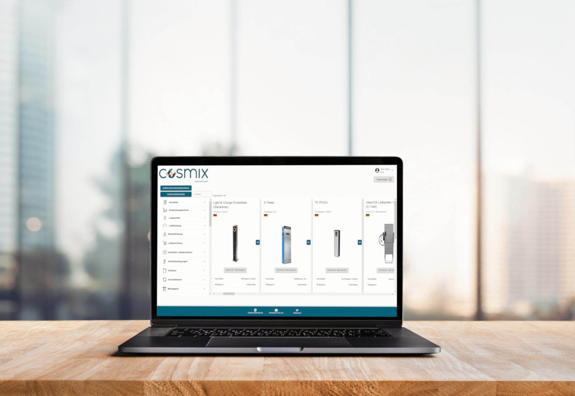 Laptop platform for charging infrastructure